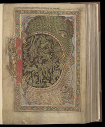 The Last Judgement, in The Winchester Psalter